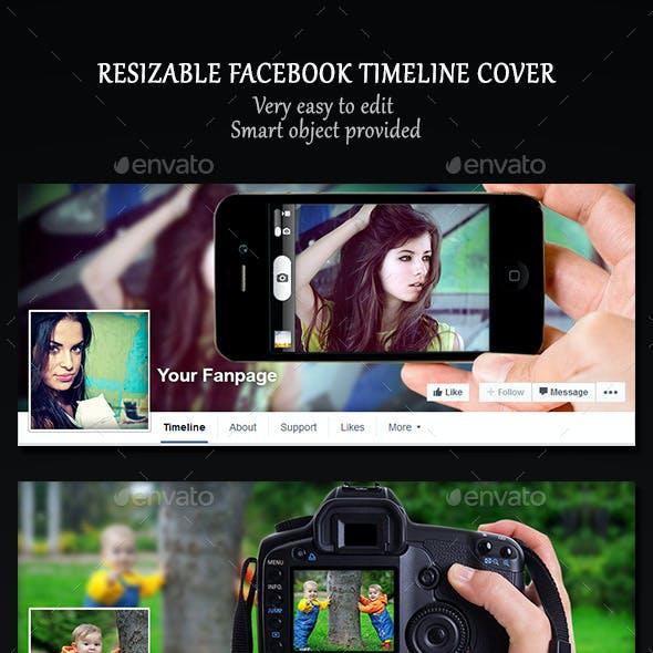Resizable Facebook Timeline Cover
