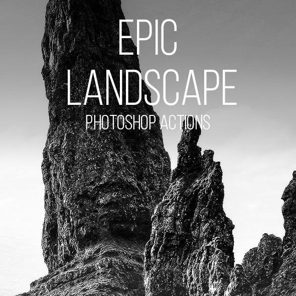 Epic Landscape Photoshop Actions