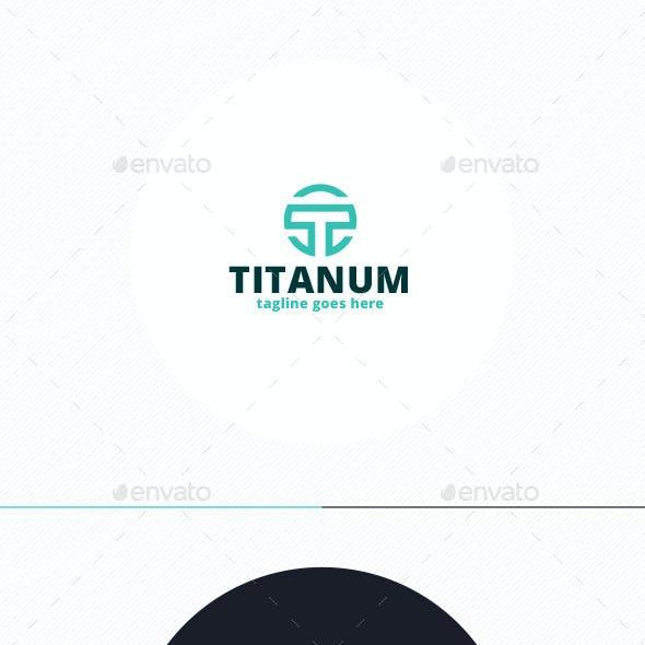 Titanum Logo • Letter T