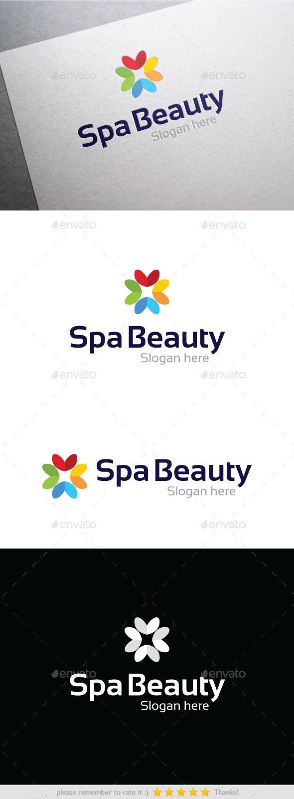 Spa Beauty - Nature Logo Templates