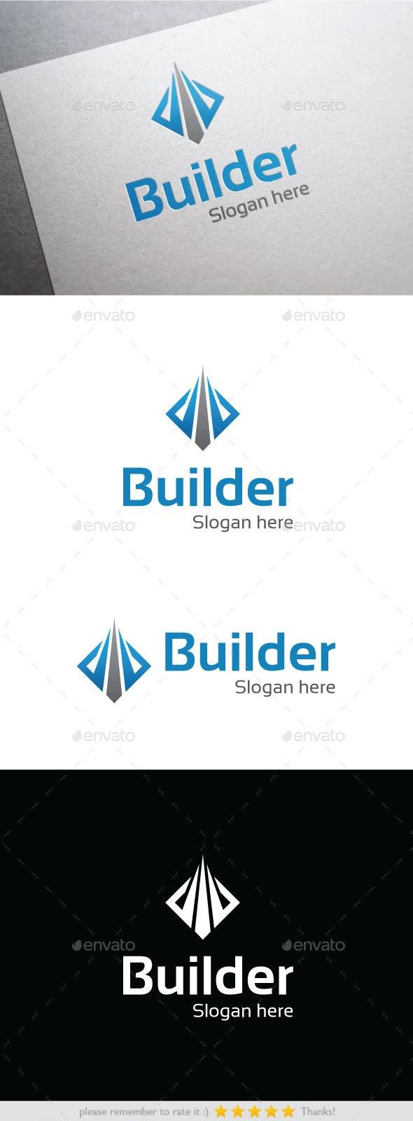 Builder - Buildings Logo Templates