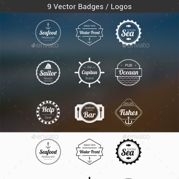 Sea Badges Logos