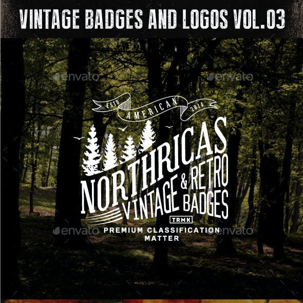 Badges and Logos Vol.03