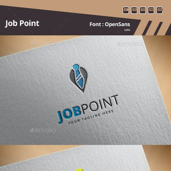 Job Point Logo Template