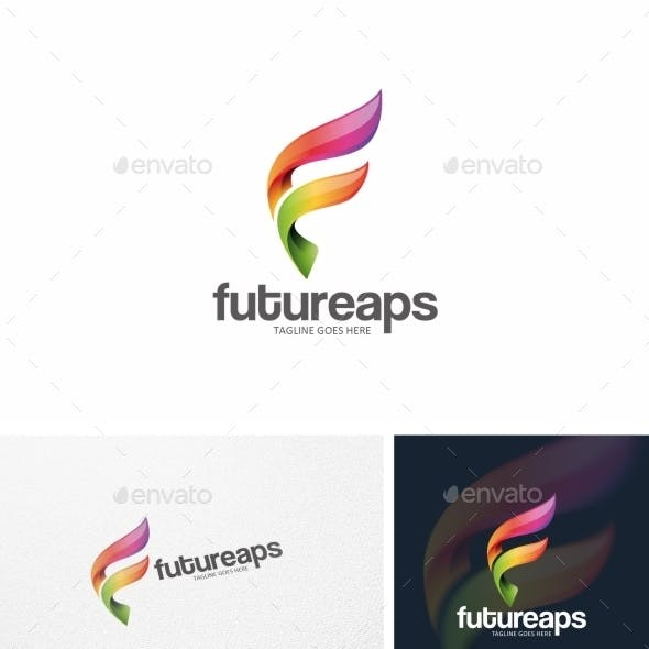 Abstract F Letter - Logo Template