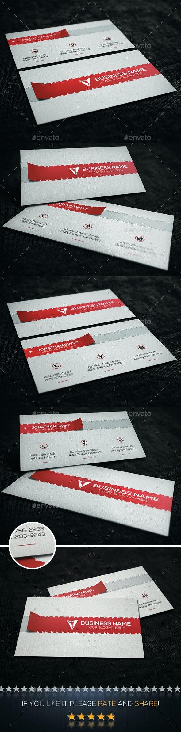 Creative Business Card No.09 - Creative Business Cards