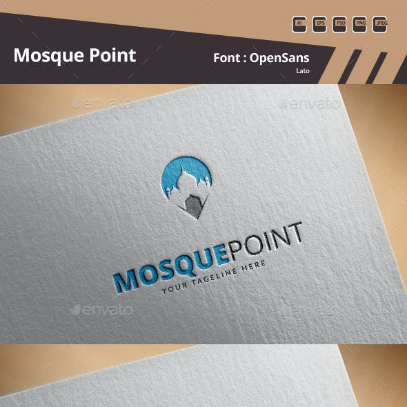 Mosque Point Logo Template