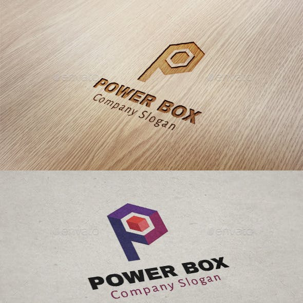 Power Box / Letter P Logo