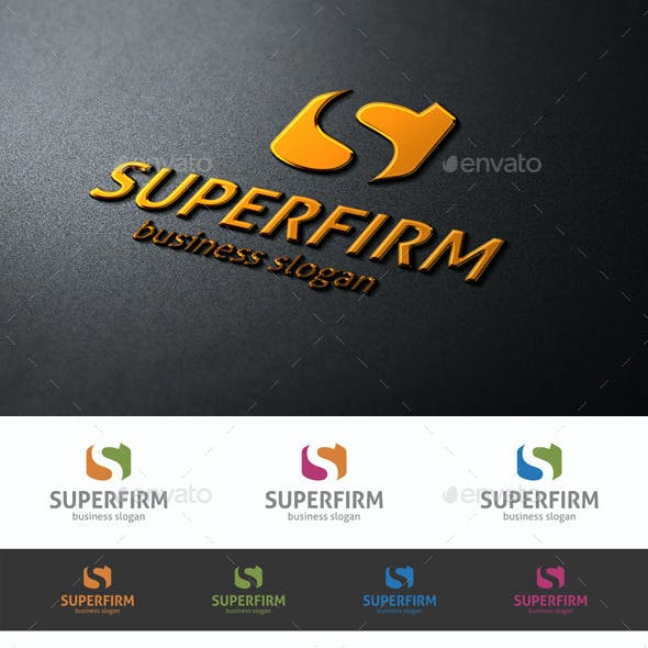 Super Firm - S Logo Letter