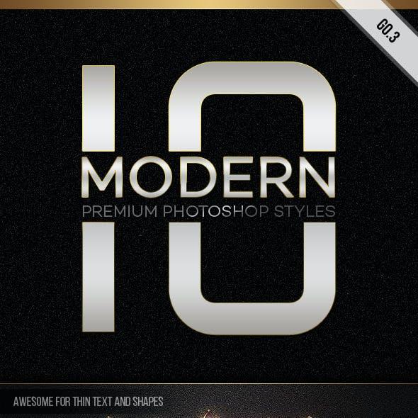 10 Modern Styles GO.3