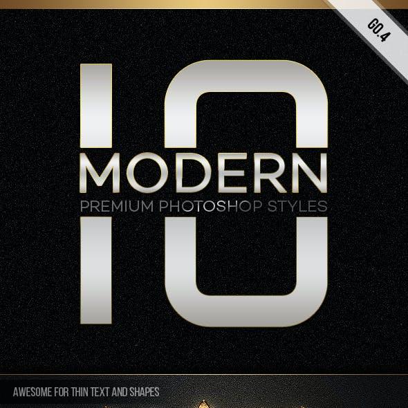 10 Modern Styles GO.4