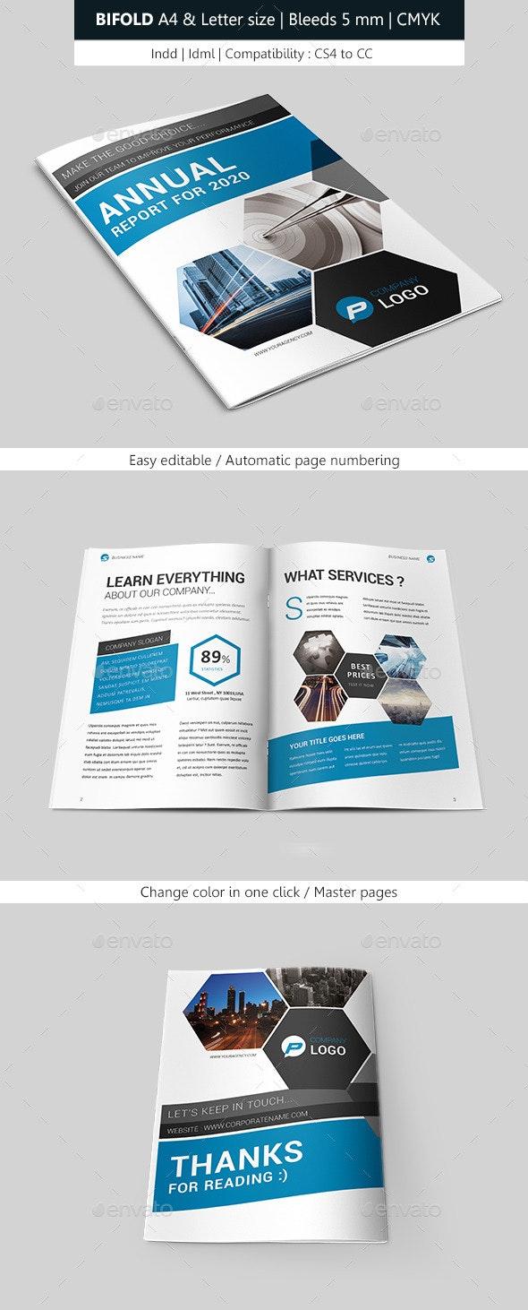 Creative Indesign Brochure Bifold Template - Corporate Brochures