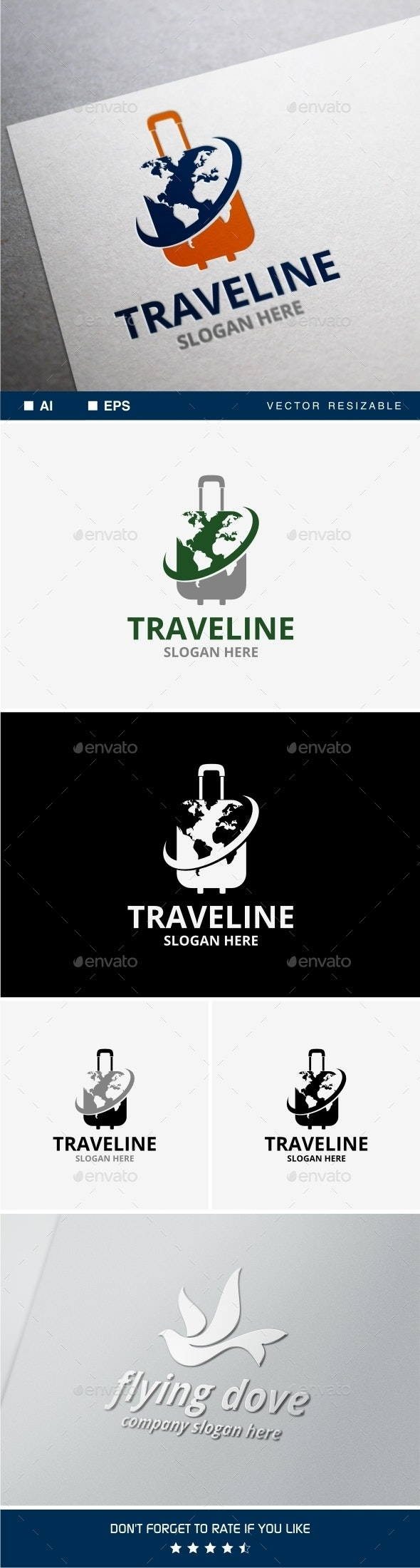 Traveline Logo - Objects Logo Templates