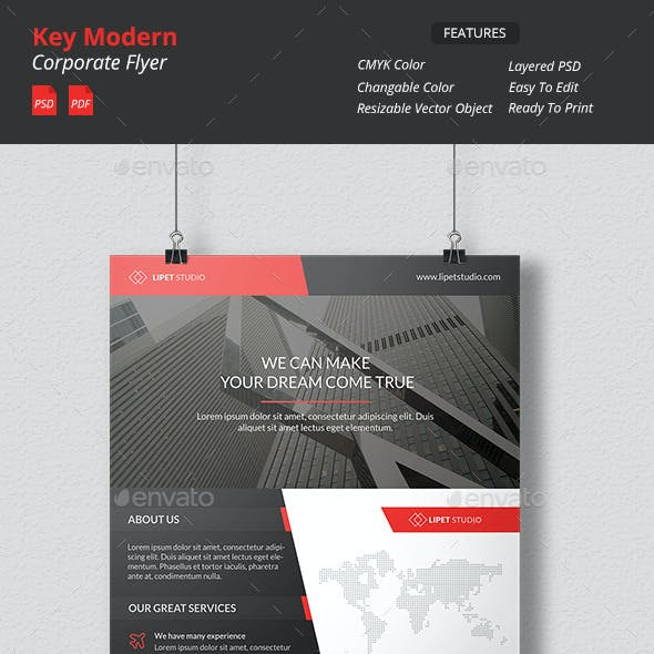 Key - Modern Corporate Flyer
