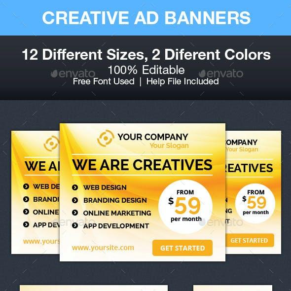 Creative Ad Banners