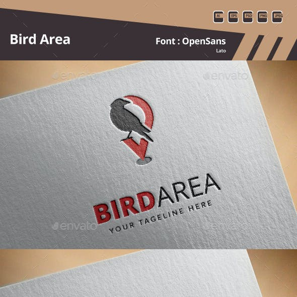 Bird Area Logo Template