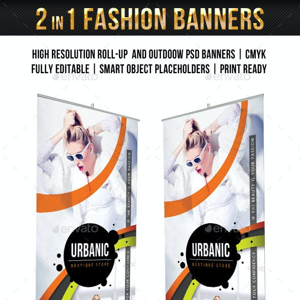 Fashion Banner Templates Pack