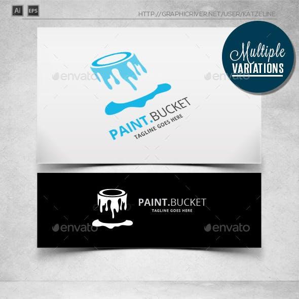 Paint Bucket - Logo Template