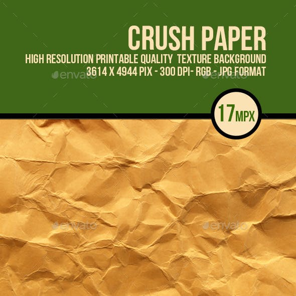 Crushed Brown Paper