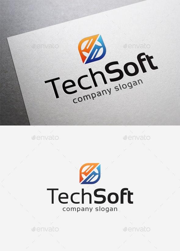 Tech Soft Logo