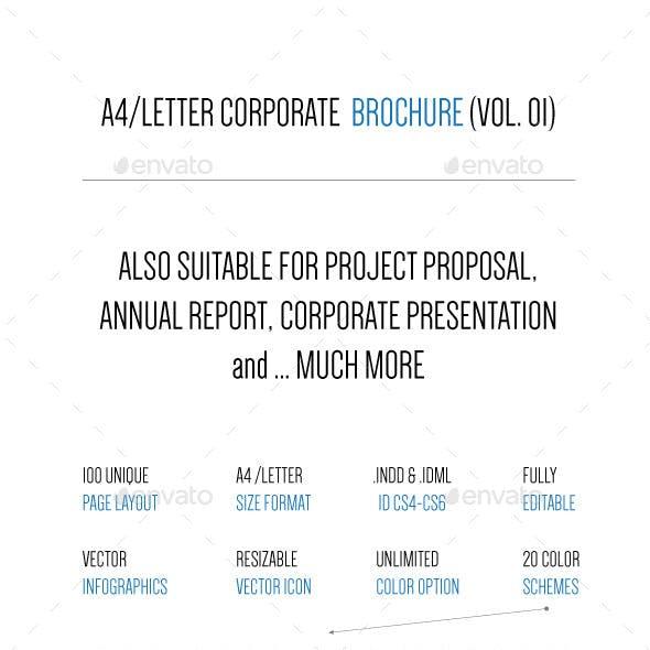 A4/Letter 100 Page Business Brochure (V.01)