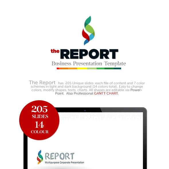 The Report - Presentation Template