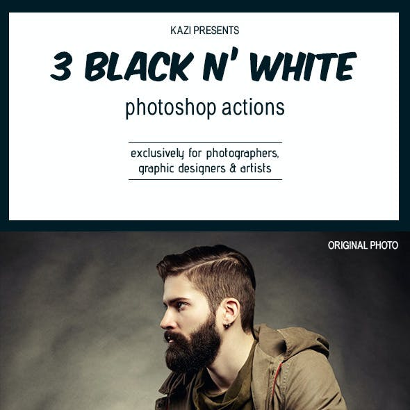 3 B&W Actions