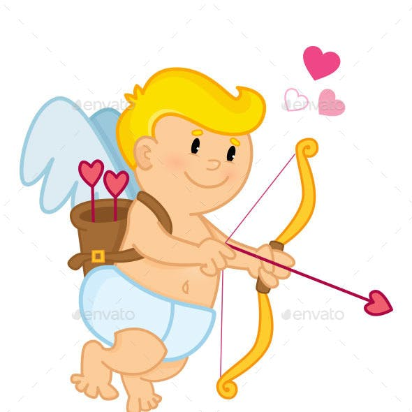 Cupid Drawing his Bow