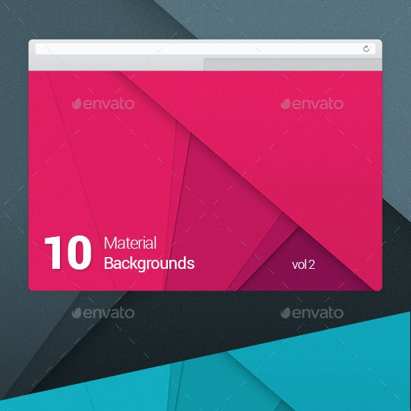 10 Material Design Backgrounds Vol 2