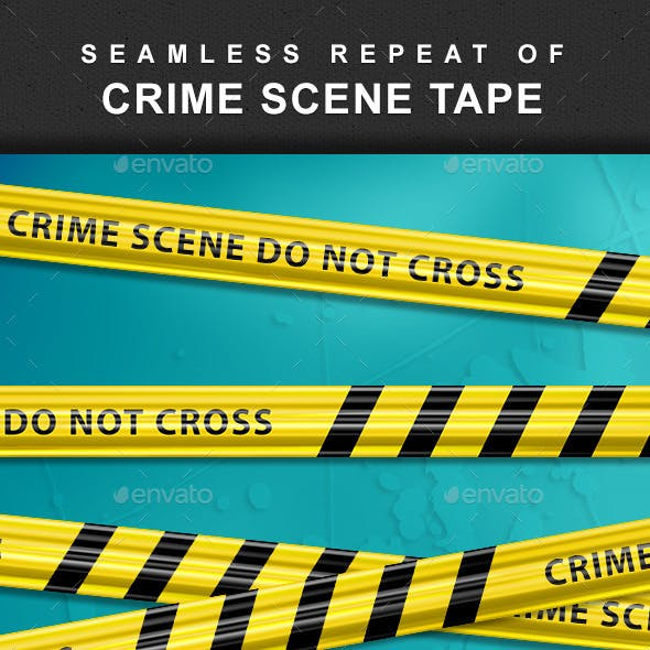 Crime Scene Tape - Seamless Repeat