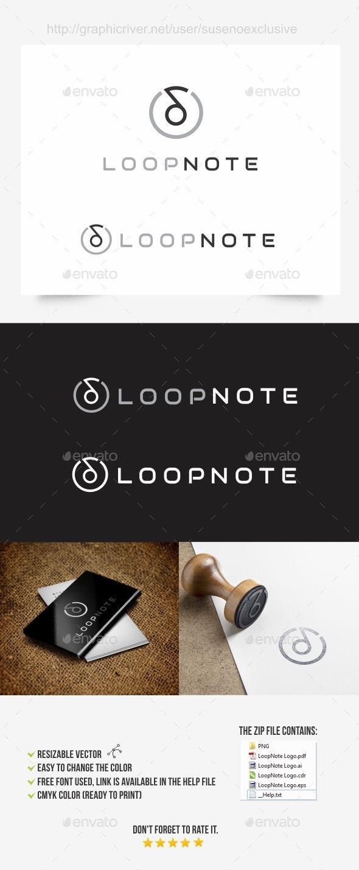 Music Note Logo - Symbols Logo Templates