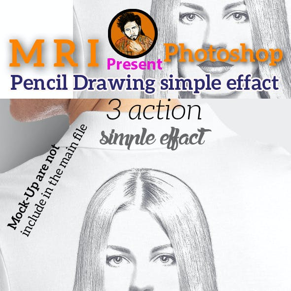 Pencil Drawing Simple Effect