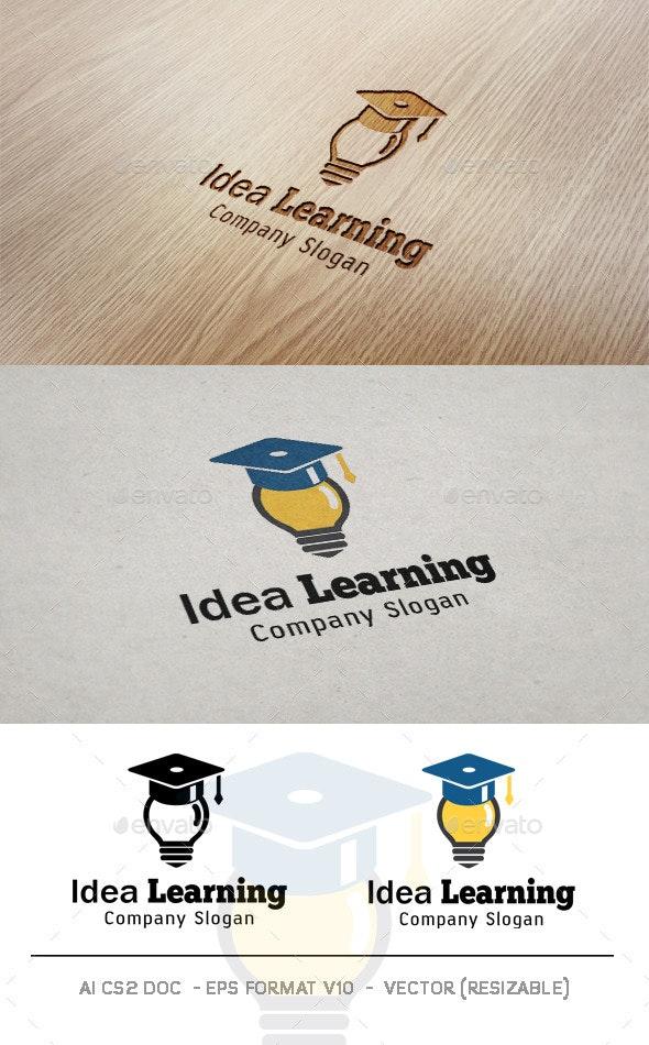 Idea Learning Logo - College Logo Templates