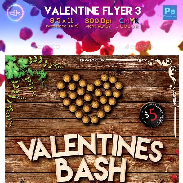 Valentines Flyer 3 - Template