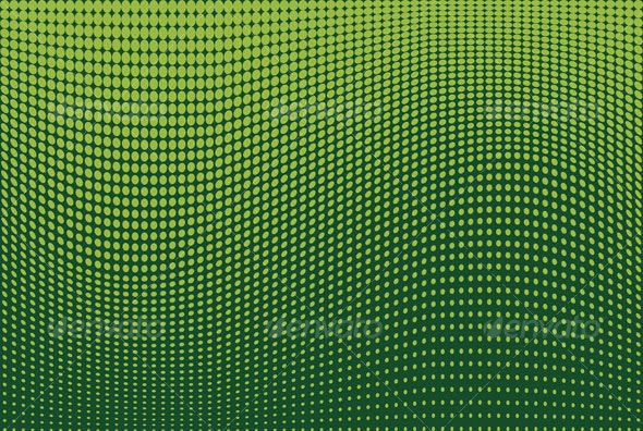 Waves of Dots Background - Backgrounds Decorative