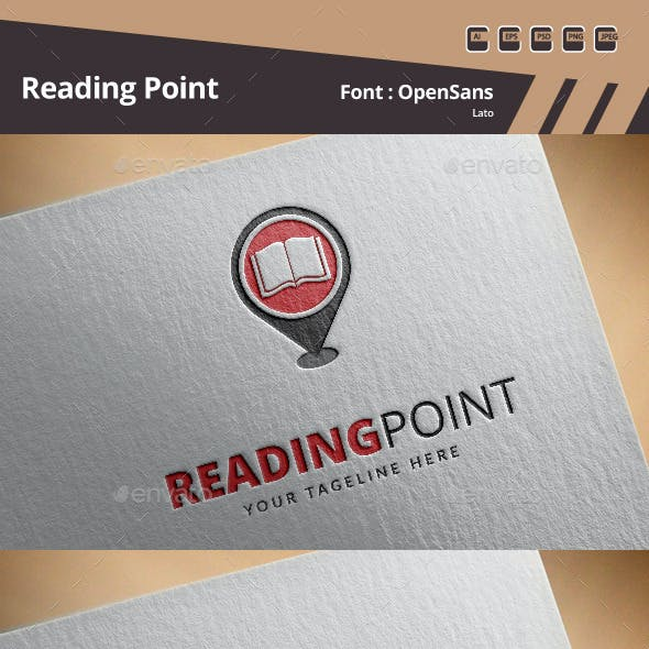 Reading Point Logo Template