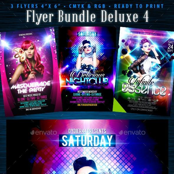 Flyer Bundle Deluxe 4 (Flyer Template 4x6)