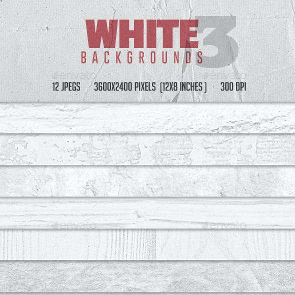 White Backgrounds Col 3
