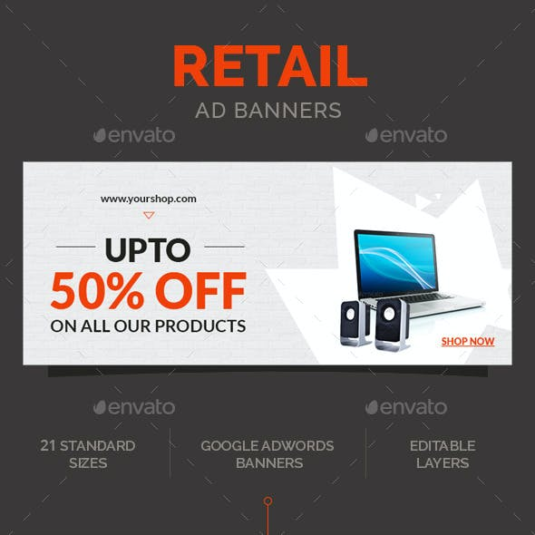 Retail Ad Banners