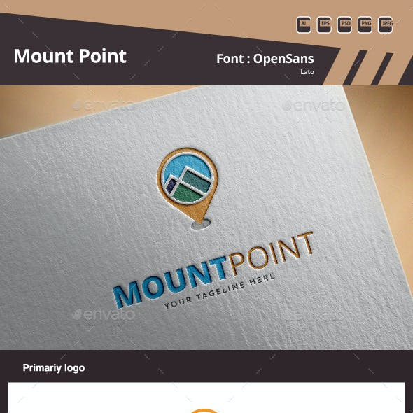 Mount Point Logo Template