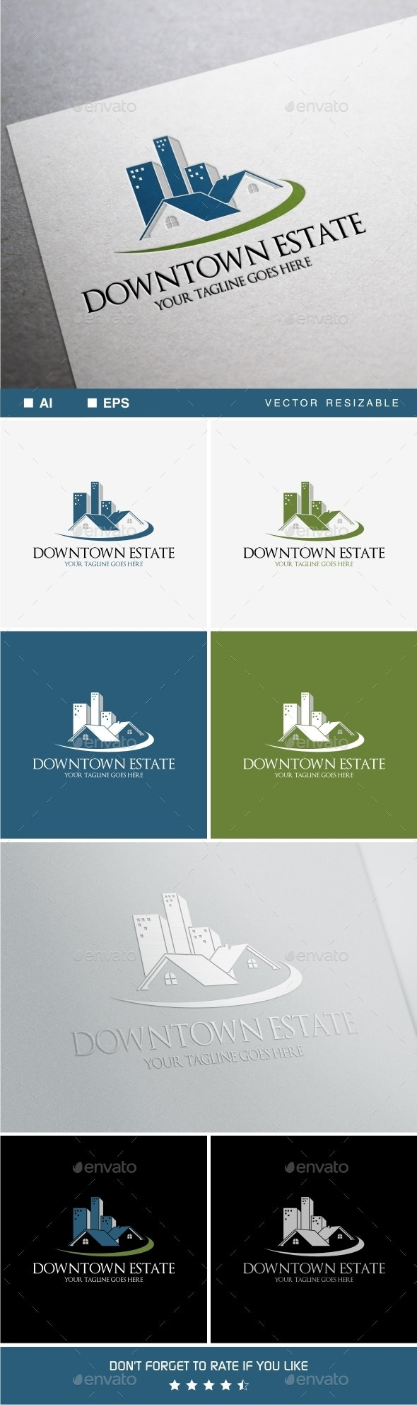 Downtown Estate Logo