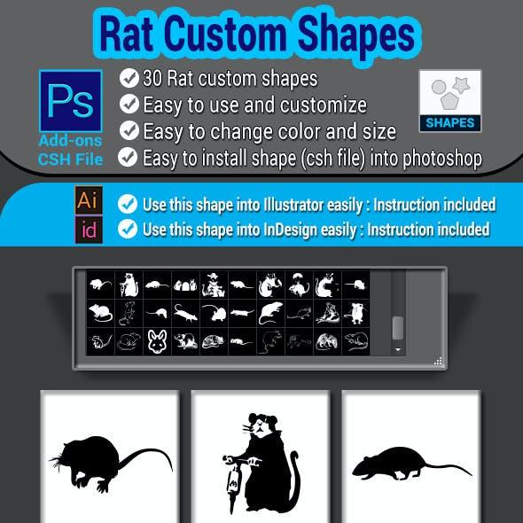 Rat Custom Shapes
