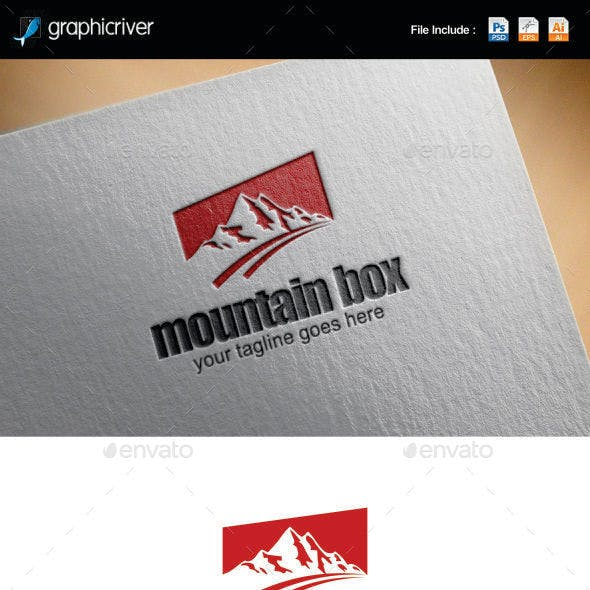 Mountain Box Logo Templates