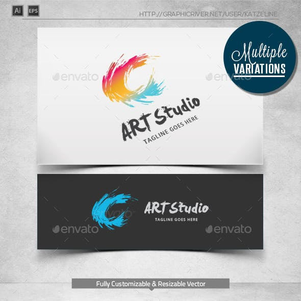 Creative C Art - Logo Template