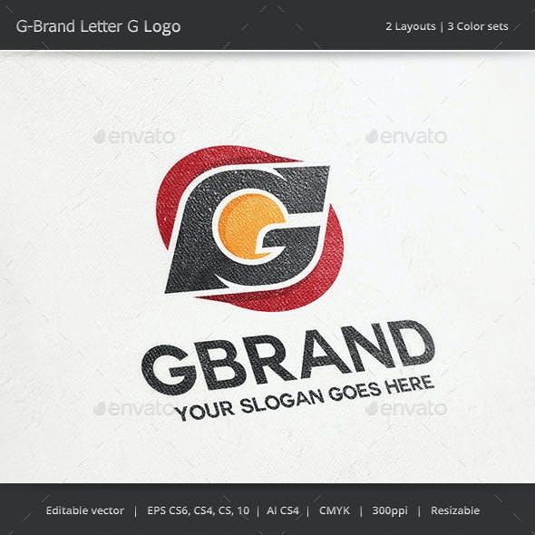 G Brand Letter G Logo