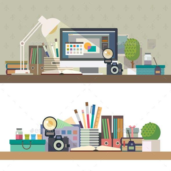 Workplace Illustration