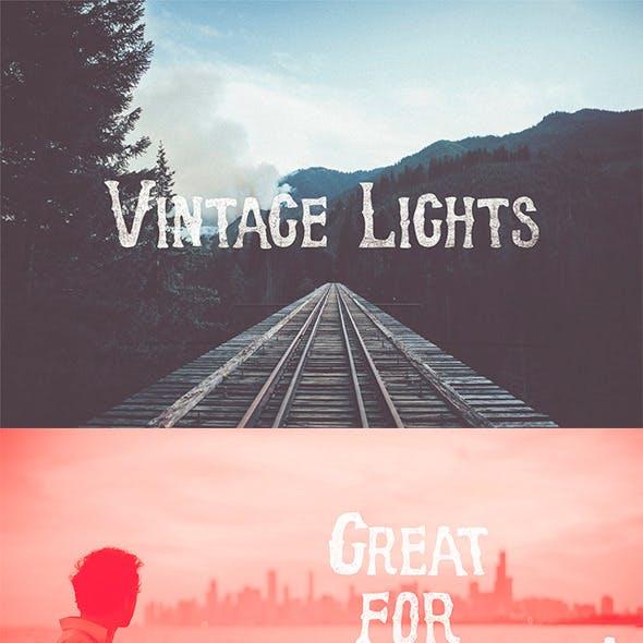 Vintage Lights Gradients