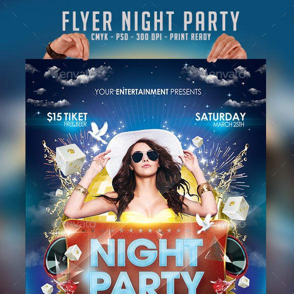 Flyer Night Party