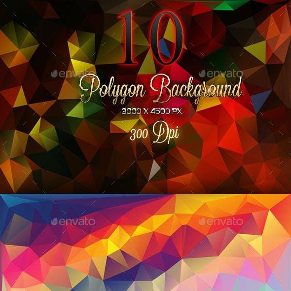 10 Backgorund Polygon Part 5