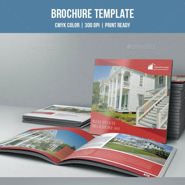 Square Bifold for Real Estate Company-V09
